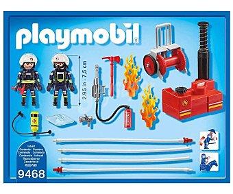 Playmobil Escenario de juego de bomberos,