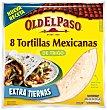 Tortillas mejicanas con maíz envase 300 g 8 unidades Old El Paso