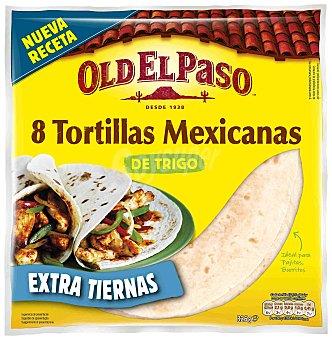 Old El Paso Tortillas mejicanas con maíz envase 300 g 8 unidades
