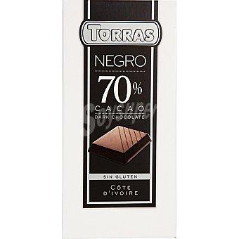 Torras Chocolate Negro 70% Cacao Torras 200g 200 gr