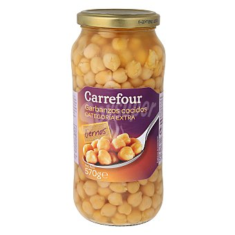 Carrefour Garbanzos cocidos 400 g