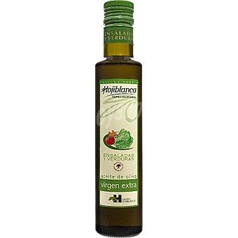 HOJIBLANCA aceite de oliva virgen extra especial ensaladas y verduras  botella 250 ml