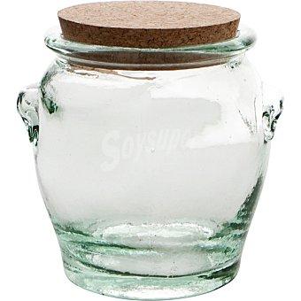 QUID Tasos Mielera de vidrio con tapón de corcho 0,50 l