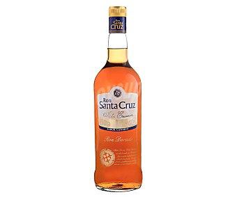 Santa Cruz Ron añejo dorado elaborado en las Islas Canarias ORO Botella de 1 l
