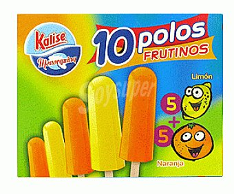 Kalise Polo Naranja Limón 10x60ml