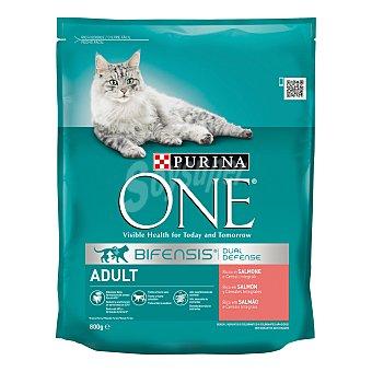 Purina One Pienso para gatos con fórmula para mejorar la digestión sensible 1,5 kg