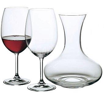 BOHEMIA Martina copas de vino 59 cl set de 6 unidades con decantador 59 cl