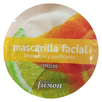 FRUIT FUSION MASCARILLA FACIAL CITRICA REVITALIZANTE Y PURIFICANTE 10 g