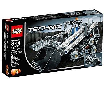 LEGO Juego de construcción Technic cargadora compacta con orugas, 252 piezas, modelo 42032 1 unidad