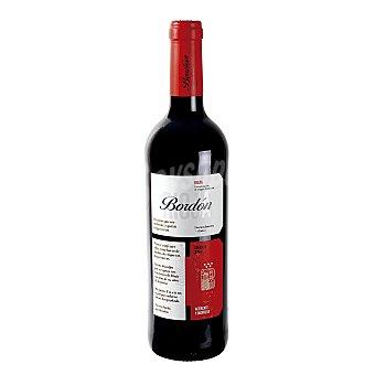 Bordón Vino tinto rioja crianza Botella 750 mililitros