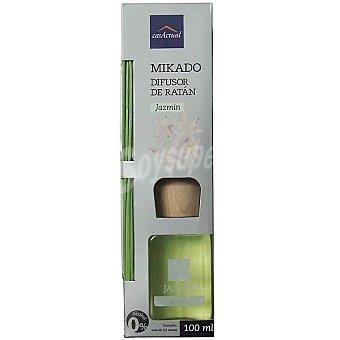 CASACTUAL Mikado Ambientador en varillas aromáticas Jazmín 100 ml