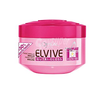 Elvive L'Oréal Paris Mascarilla nutrigloss 300 ML