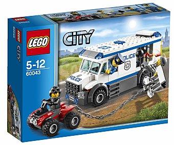 LEGO Juego de Construcciones City Plice, Transporte de Prisioneros, Modelo 60043 1 Unidad