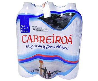 Cabreiroá Agua Mineral Pack 6 Botellas de 1.5 Litros