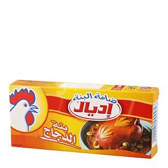 Ideal Caldo pollo halal 8 pastillas