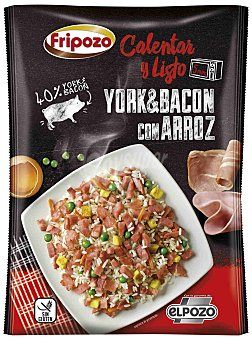 Fripozo York y Bacon con Arroz 400 gr