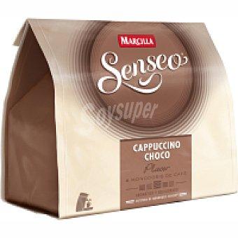 Marcilla Café Capuccino Choco Senseo Paquete 138 g 8 monodosis