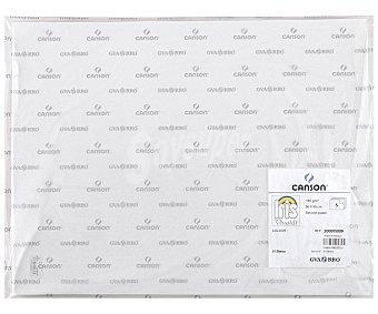Canson Paquete de 5 cartulinas de color blanco, medidas de 50x65 centímetros y 185 gramos canson 5u