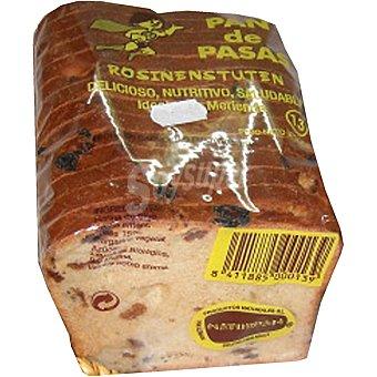 Naturpan pan de pasas cortado Unidad 370 g