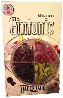Hacendado Especias botanicos para gin tonic Paquete 16 g