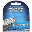 Sword quattro recambio maquinilla Blíster 4 uds Wilkinson