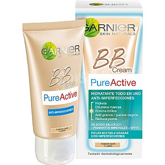 Skin Naturals Garnier Garnier BB Pure Active Anti-Imperfecciones Tono medio 50 ml