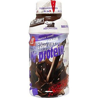Nutrisport My Protein suplemento líquido sabor chocolate botella 330 ml