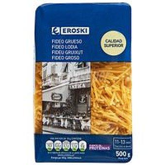 Eroski Fideo grueso Paquete 500 g