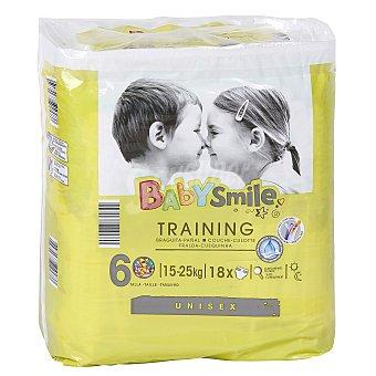 BABYSMILE DIA pañal de aprendizaje +16 kgs paquete 18 uds