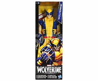Marvel Figura Artículada Titán de 30 cm de Wolverine, Lobezno 1 Unidad