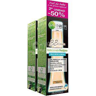 Skin Naturals Garnier Cream Perfeccionador Prodigioso todo en uno con un toque de color Medio piel pack 2 tubo 40 ml (pack precio especial 2ª unidad al 50%) Pack 2 tubo 40 ml
