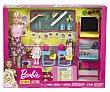Conjutno Profesora con muñeca profe, muñecas alumnas y accesorios, barbie. Barbie