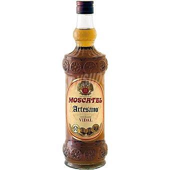 Vidal Vino dulce Artesano Moscatel Botella 75 cl