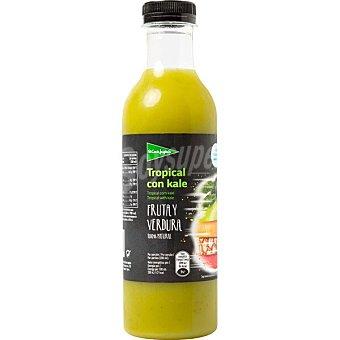 El Corte Inglés Zumo tropical con kale  envase 750 ml