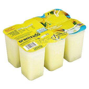 Hacendado Helado granizado limón Pack 6 x 200 ml