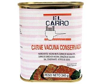 El Carro Carne de Vacuno (corned Beef) 340 Gramos