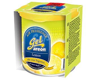 AREON Ambientador en gel para coche en envase de lata y con olor a limón 1 unidad