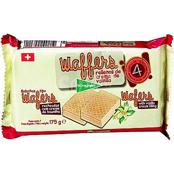 El Corte Inglés Rellenos de crema de vainilla Wafers Estuche 175 g