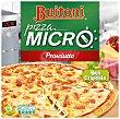Pizza Micro crujiente de jamón y queso especial microondas Estuche 315 g Buitoni