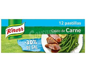 Knorr Caldo de carne -30% sal 12 uds de 120 g