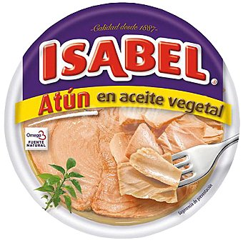 Isabel Atún claro en aceite vegetal Lata 266 g