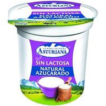 Central Lechera Asturiana Yogur azucarado sin lactosa Tarro 125 g