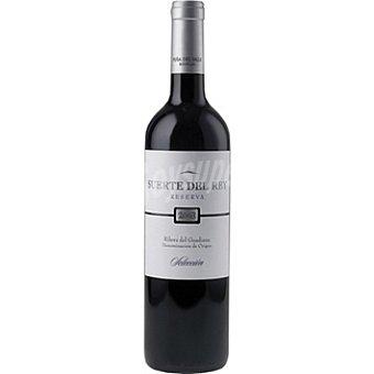 SUERTE DEL REY Selección Vino tinto reserva D.O. Ribera del Guadiana Botella 75 cl