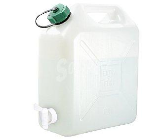 EDA Bidón isotérmico color verde con grifo, 4 litros de capacidad 1 unidad
