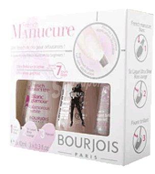 Bourjois Paris Kit manicura francesa nº 91 blanc glamour 1 ud