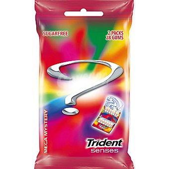 Trident Chicle senses mistery sin azúcar 2 ud