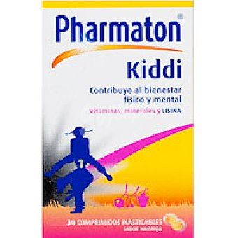 Pharmaton Kiddi Caja 30 unid