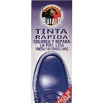Bufalo Tinte de calzado rápido azul  Frasco de 25 ml