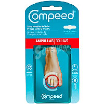 Compeed Ampollas dedos pies Pack 8 unid