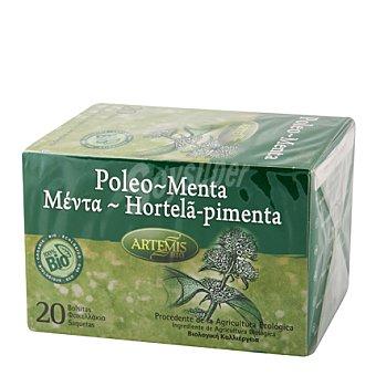 Artemis Bio Infusión menta poleo filtros 20 ud